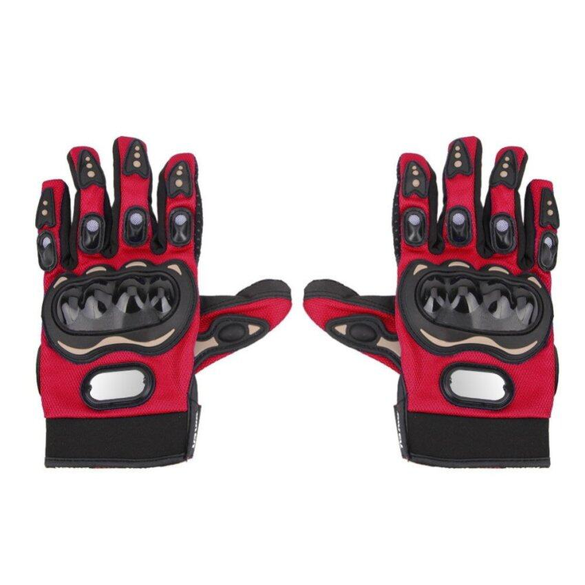 Outdoor Riding Motorcycle Gloves (Red)