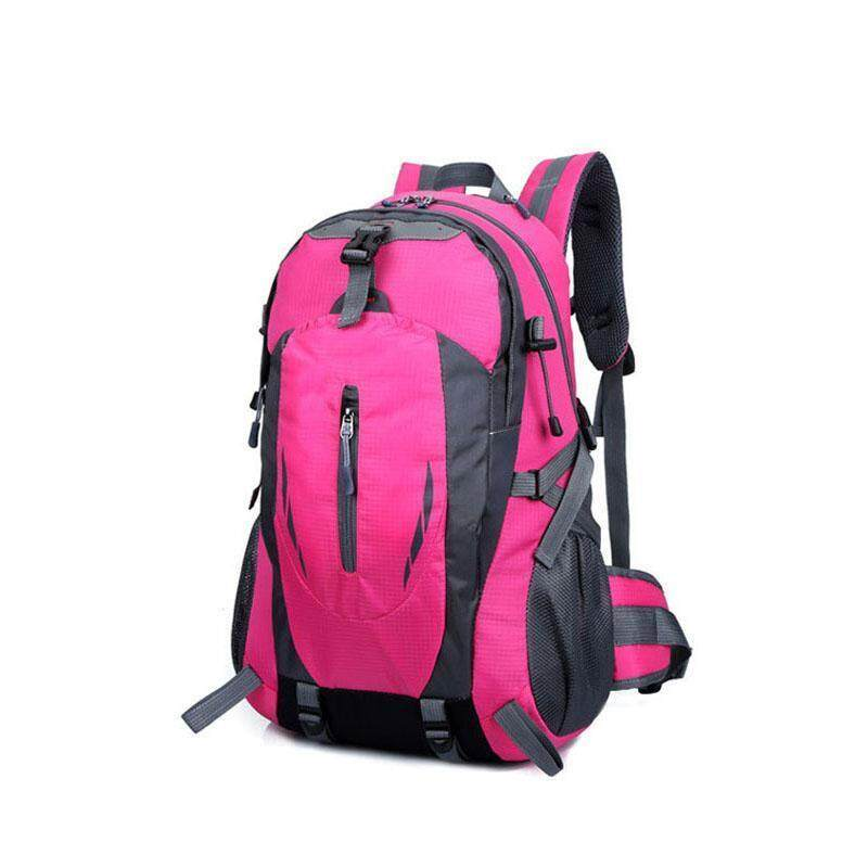 PAlight Fashion Outdoor Sport Nylon Backpacks Women MenTravel Backpack Mountaineering Hiking Bags - intl