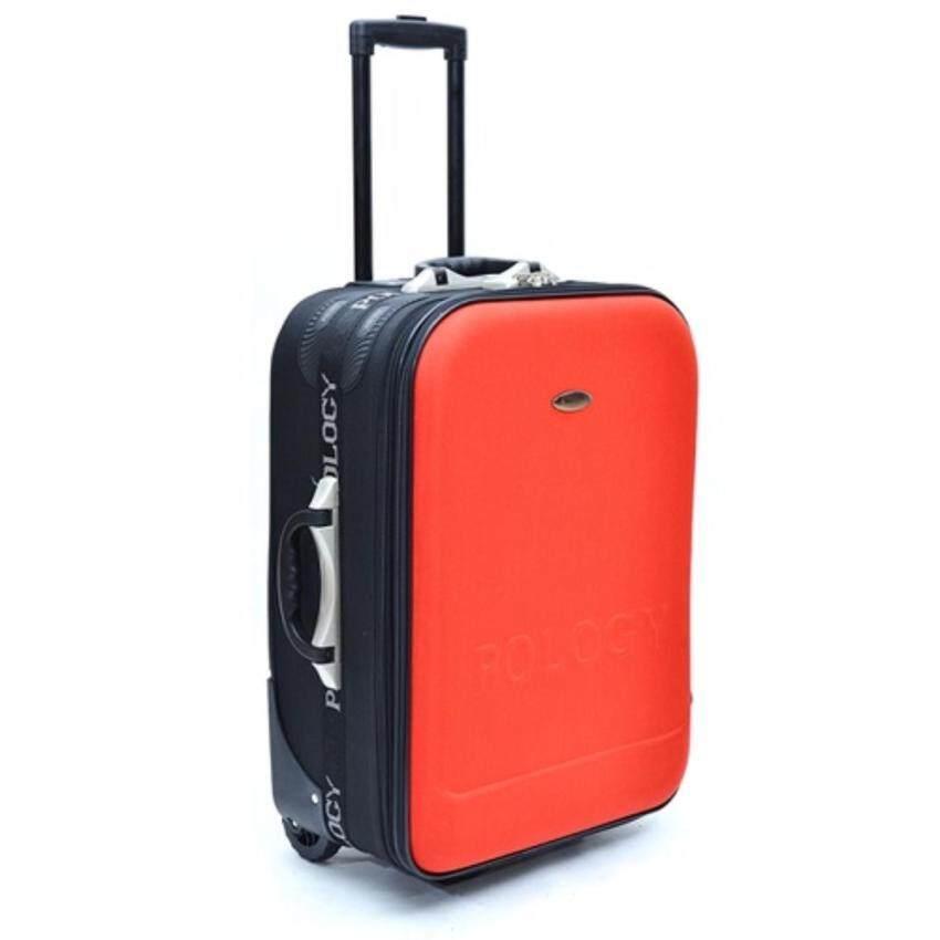 POLOGY กระเป๋าเดินทาง 28นิ้ว รุ่น DC168 ( สีแดง ) (Red 28 นิ้ว หรือมากกว่า) ...