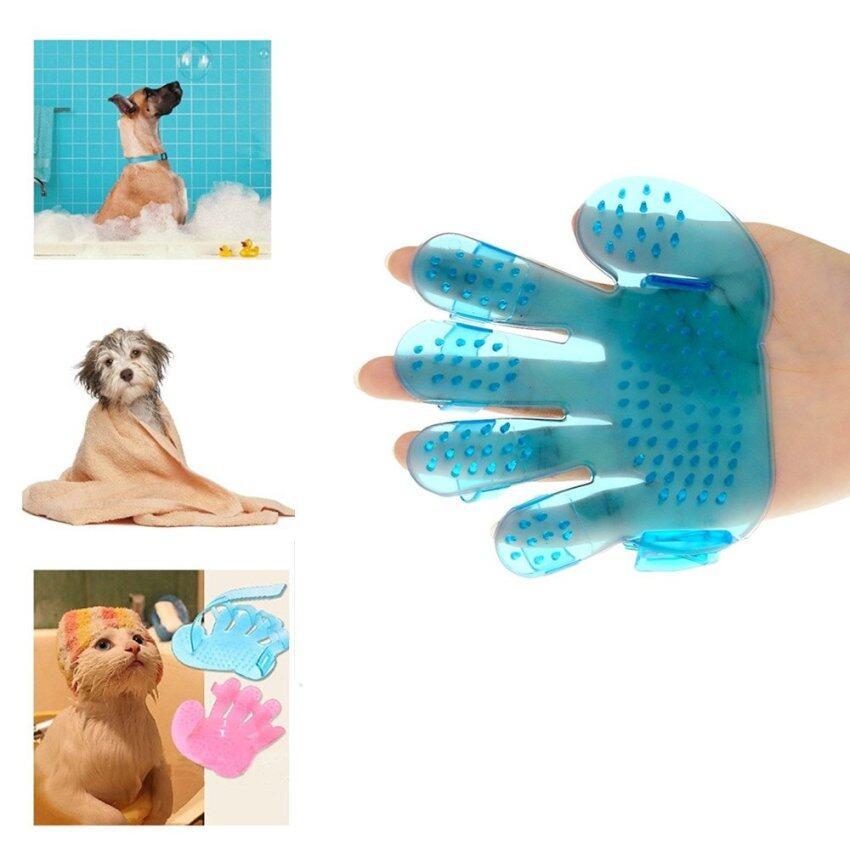 สัตว์เลี้ยงสุนัขแมวม้าอาบน้ำนวดนิ้วหวีแปรงกวาดด้วยคราดเช็ด ...