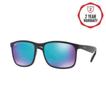 Ray-Ban แว่นกันแดด รุ่น - RB4266 - Black (601/71) Size 49 Green
