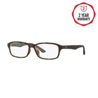 Ray-Ban แว่นสายตา รุ่น - RX7081D - Matte Havana (5200) Size 55 Demo Lens
