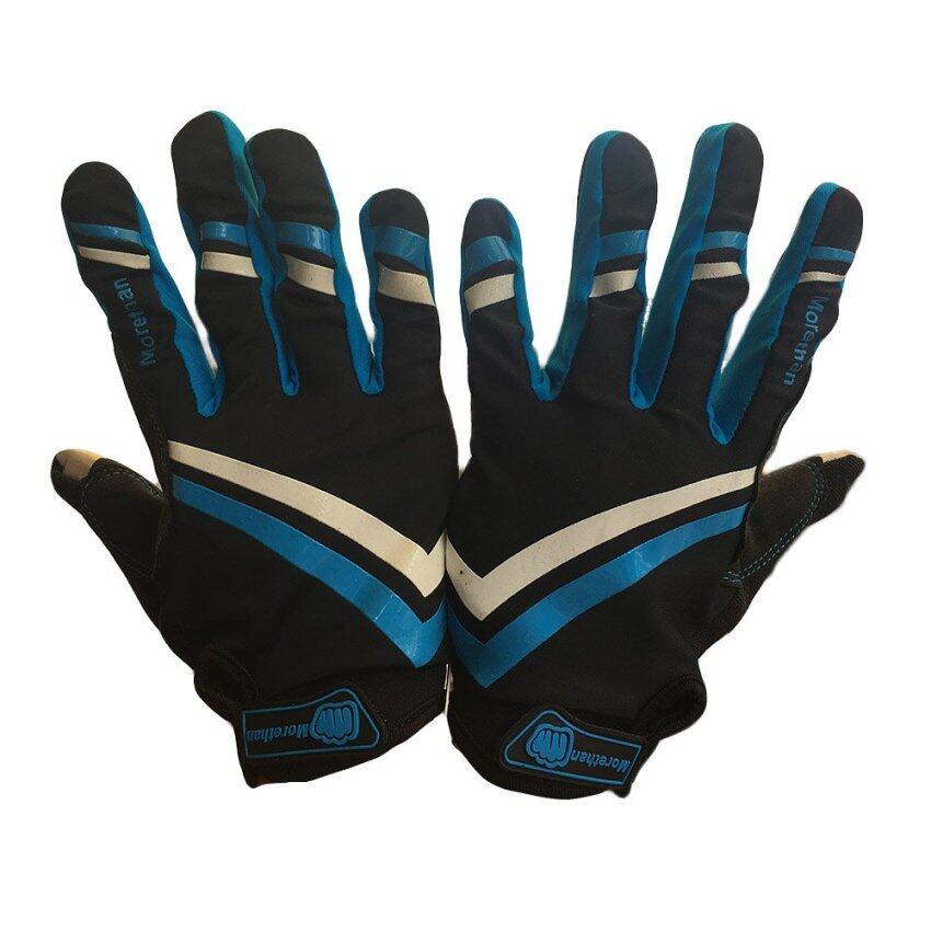 Rctoystory ถุงมือ มอเตอร์ไซค์ บิ๊กไบค์ ทัชสกรีนได้ (สีฟ้า/ดำ)
