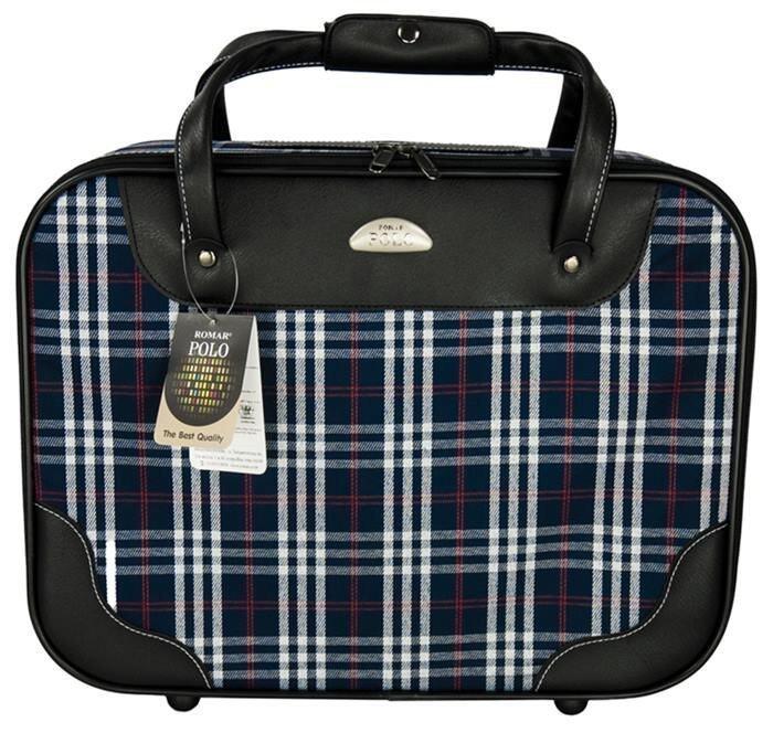 Romar Polo กระเป๋าเดินทาง กระเป๋าถือ Laptop กระเป๋าใส่เอกสาร ขนาด 16 นิ้ว รุ่น Scot R220 ...