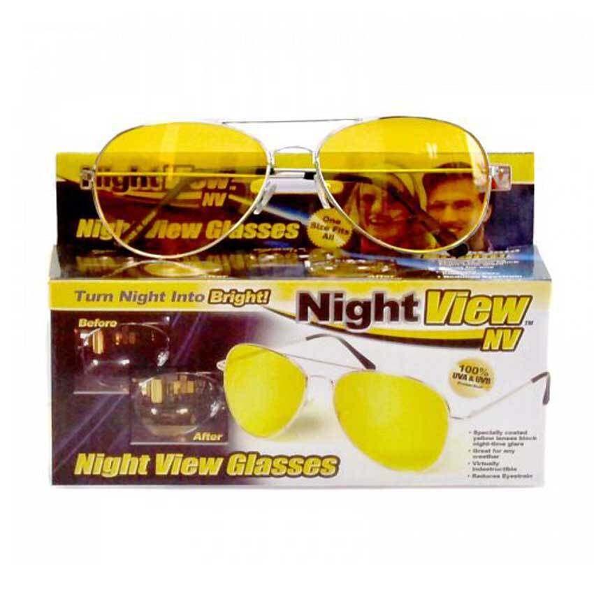 สุดยอดสินค้าRyder แว่นตาดูกลางคืน Night View แว่นกันแดด แว่นตา แว่นตาแฟชั่นแว่นกันแดดผู้ชาย กันแดด Ryder 0168-yellowสีเหลือง ราคาย่อมเยา