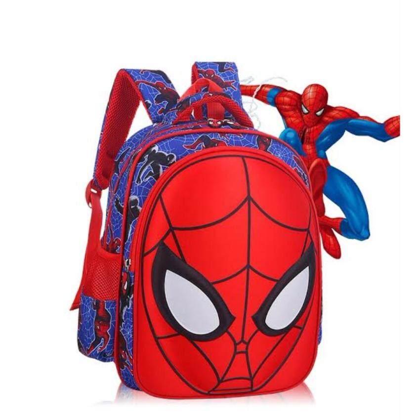 7338b86f9164 School Bag 3D กระเป๋าเป้ลายการ์ตูน กระเป๋าเป้เด็ก กระเป๋าเป้สะพายหลังเด็ก (