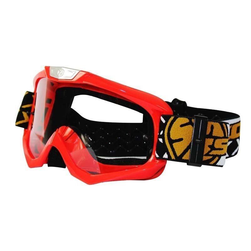 Scoyco G03 Red Motocross ATV Goggles (Intl)