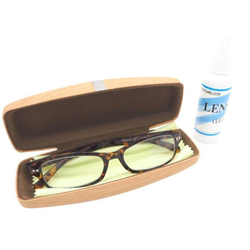 กรอบแว่นตา + กล่องแว่นตา พร้อมอุปกรณ์ครบ [Set A] ...