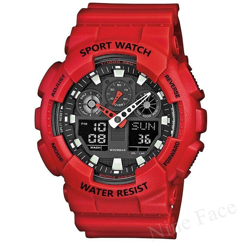 รีบเลย Sevenlight S SPORT นาฬิกาข้อมือ - GP9210 (Red) ลดราคา