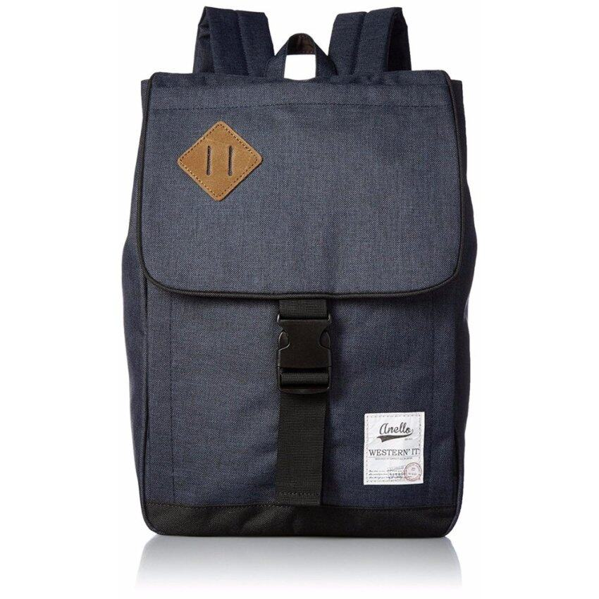 【Ship from Japan】 anello Official Poly Camp Square Backpack Small AU - A0133 Nv - intl ...