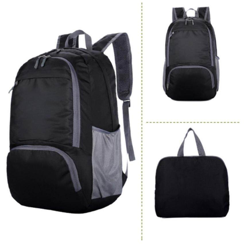 Siamcity mall กระเป๋าสะพายหลัง + กระเป๋าถือขนาดเล็ก ในใบเดียว ผ้าไนล่อน กันน้ำ สำหรับ เดินทาง ทำงาน สีดำ ...