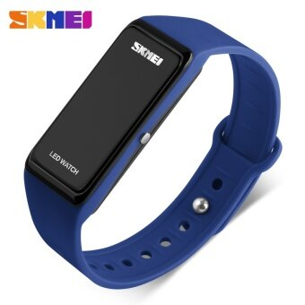 SKMEI Brand Fashion Digital Sport Watch Women Waterproof LED Electronic Ladies Wrist Band Casual Wristwatch 1265 - intl