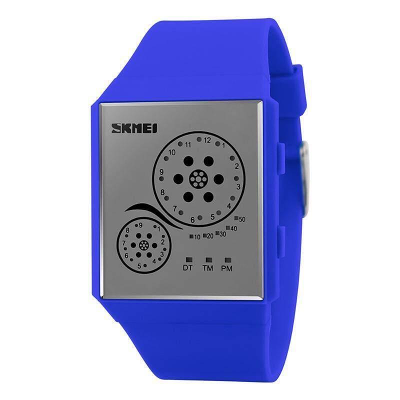 SKMEI Brand Women's WR50M Waterproof LED Digital Fashion Sports Watch 1073 - intl