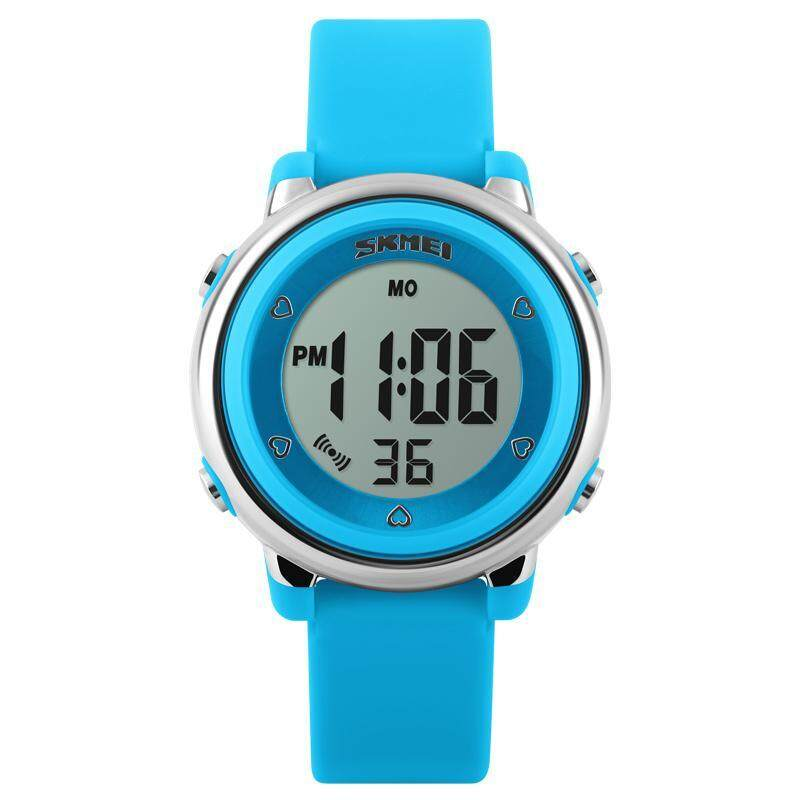 SKMEI New Fashion Sports Children Watch 1100 Digital Watches Waterproof Alarm Back Light Digital Complete calendar Wristwatch