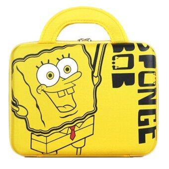 Spongebob Laptop Bag 10/14/15inches (Yellow)