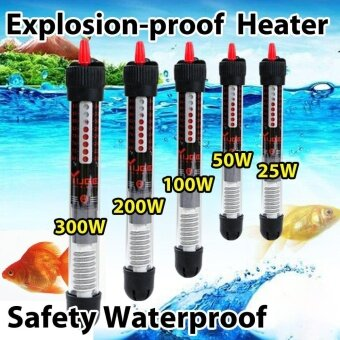 Sunshop Safety Watre-proof Fish Tank Aquarium Water Temperature Controller Adjustable Water Heater (50W) - intl