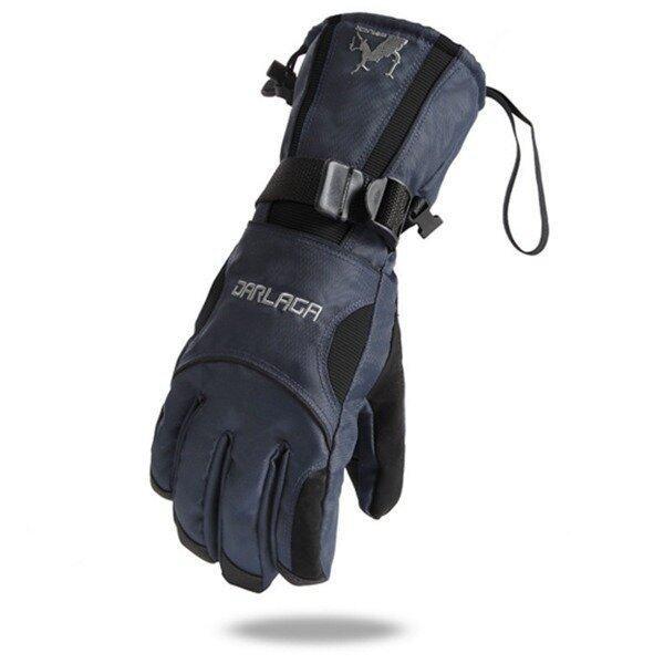 Super Warm Wind Completely Waterproof Ski Motorcycle Gloves (Black/Blue)