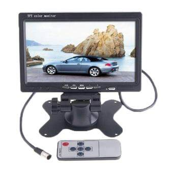 svoovs Car RearView Headrest Monitor DVD VCR Monitor Display(Black)