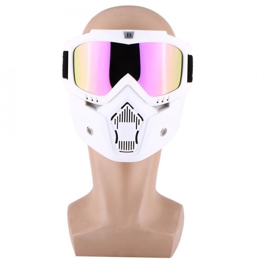 Sweatbuy BSDDP Motorcycle Dirt Bike Windproof Dustproof Helmet Shield Goggles With Removable Mask #3 - intl