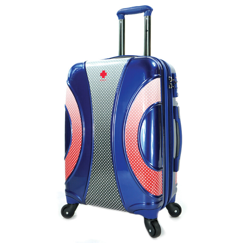 SWISH NAVY กระเป๋าเดินทาง 20 รุ่น CABANA (สีน้ำเงิน) ...