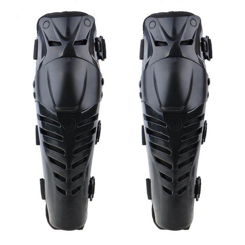 Sworld Motorcycle Racing Knee Pads Black (EXPORT) (Intl)