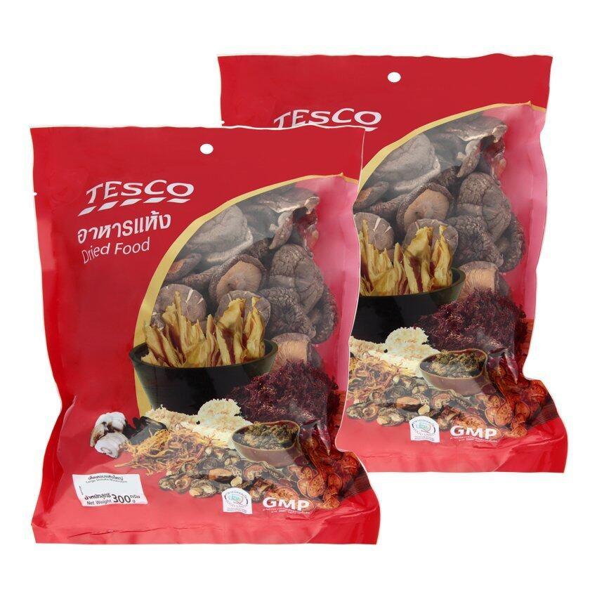 TESCO เทสโก้ เห็ดหอมแห้งดอกใหญ่ 240 กรัม (แพ็ค 2 ถุง) ...