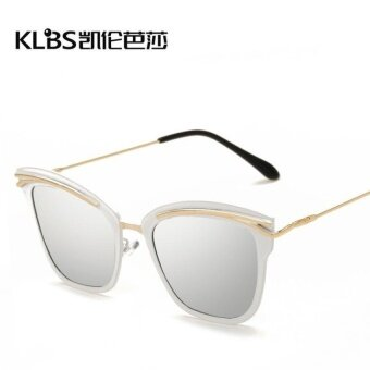 The new trend of Polarized Sunglasses 807 Europe personalityfashionall-match Cat Eye Sunglasses Polarized Sunglasses - intl
