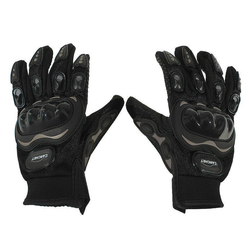 UJS Generic Outdoor Sports Full Finger Gloves Black (Intl)