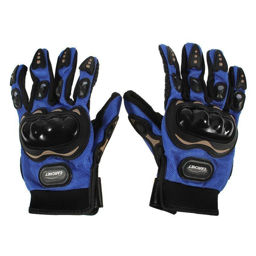 UJS Generic Outdoors Sports Full Finger Gloves Blue XL (Intl)