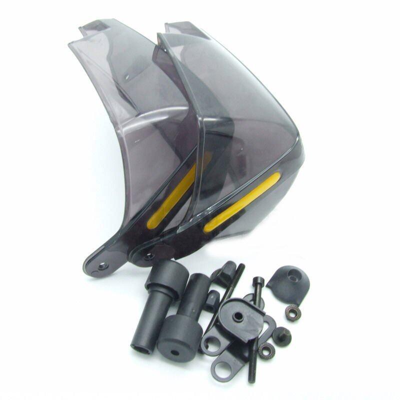 Universal 7/8' Motorcycle Motocross Smoke Handlebar Handguards Protectors Hand (Intl)