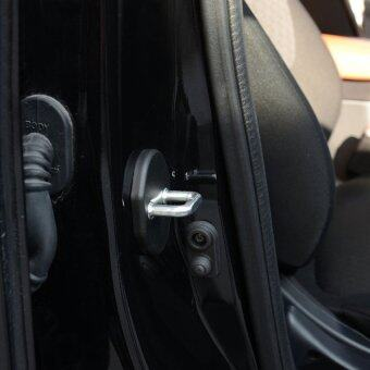 V SHOW For Mitsubishi Lancer Ex Pajero Asx Outlander Sport 2012 2013 2014Car Door Lock Buckle Cover - intl