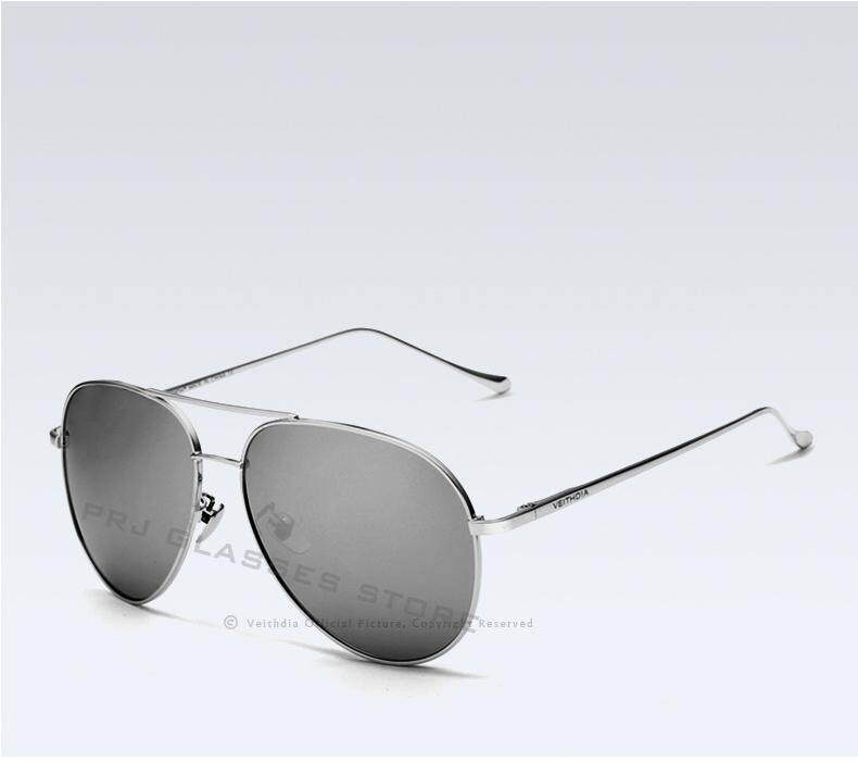 VEITHDIA Fashion Brand Fashion Unisex Sun Glasses Polarized Coating Mirror Sunglasses Oculos Male Eyewear For Men/Women 3360