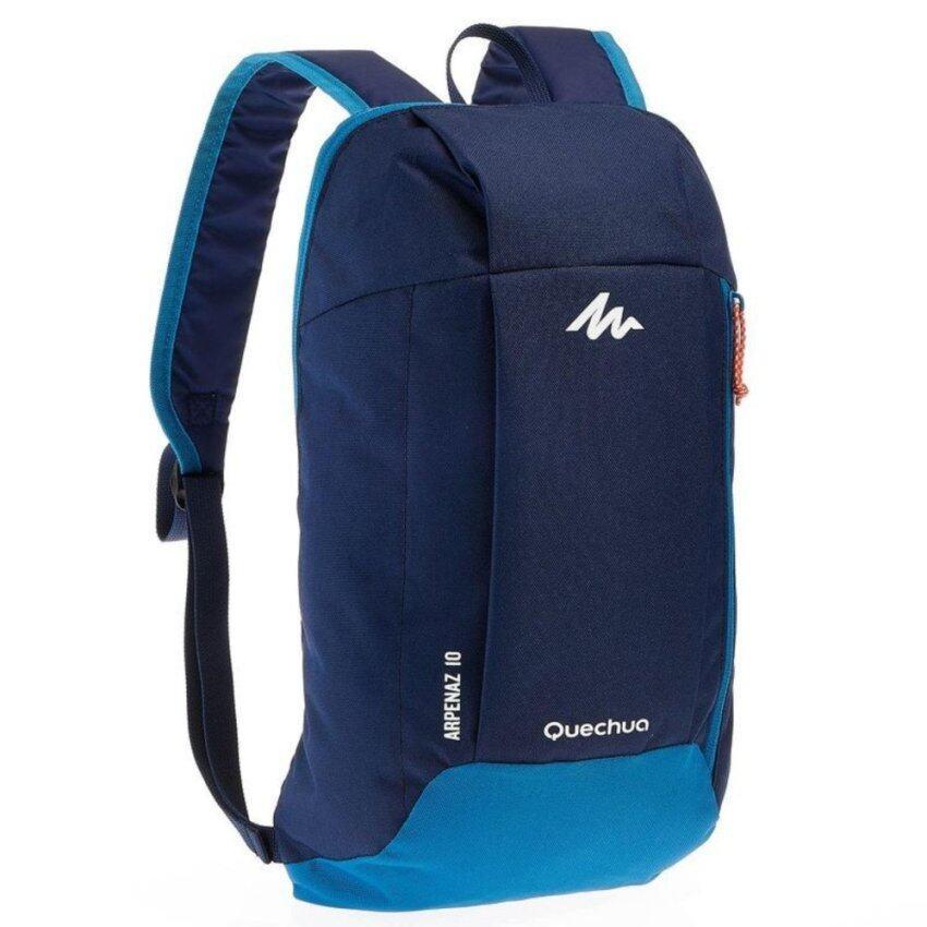 กระเป๋าเป้จักรยาน เป้กันน้ำ สำหรับปั่นจักรยาน รุ่น Waterproof Bag Arpenaz Navy Blue