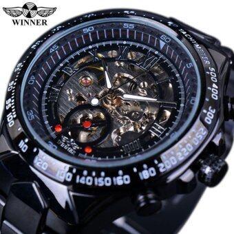 Winner Luxury Clock Men Automatic Watch Skeleton Military WatchMechanical Relogio Male Montre Homme Watch Mens Relojes