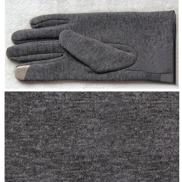 Winter Warm Touch Screen Riding Drove Play Gloves Grey - intl