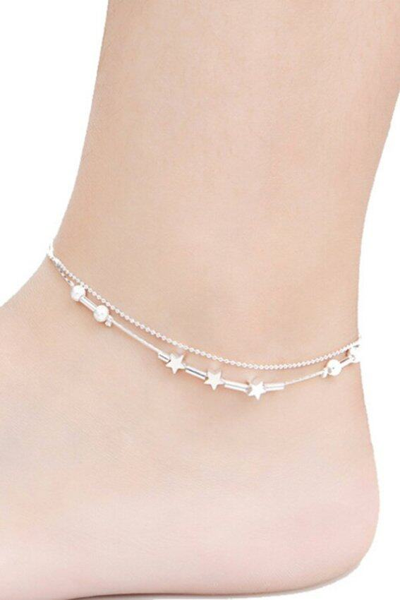 Women 925 Silver Plated Chai Silver - intl ...