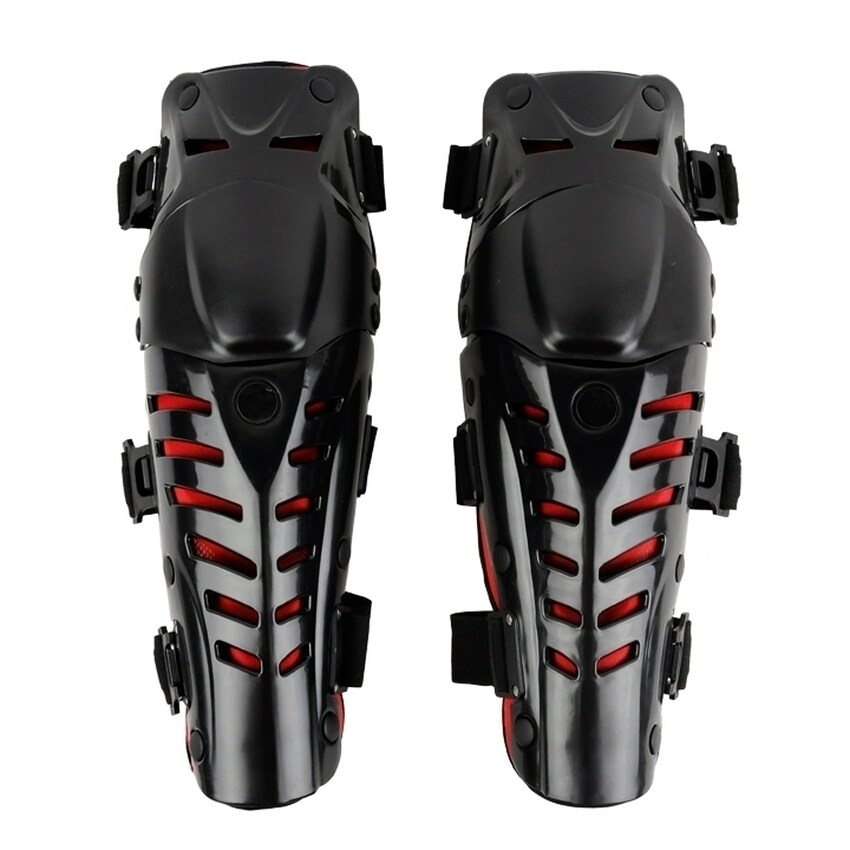 YJS Motorcycle Motorbike Racing Motocross Knee Pads Protector Guards Protective Gear (Black) - Intl