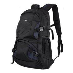 NIKE กระเป๋าเป้เดินทางขนาดใหญ่ (สีดำ-น้ำเงิน)