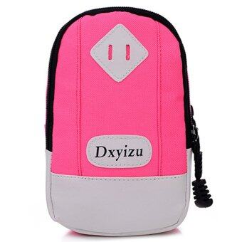 Outdoors Sports Running Bag Arm Bags Pink