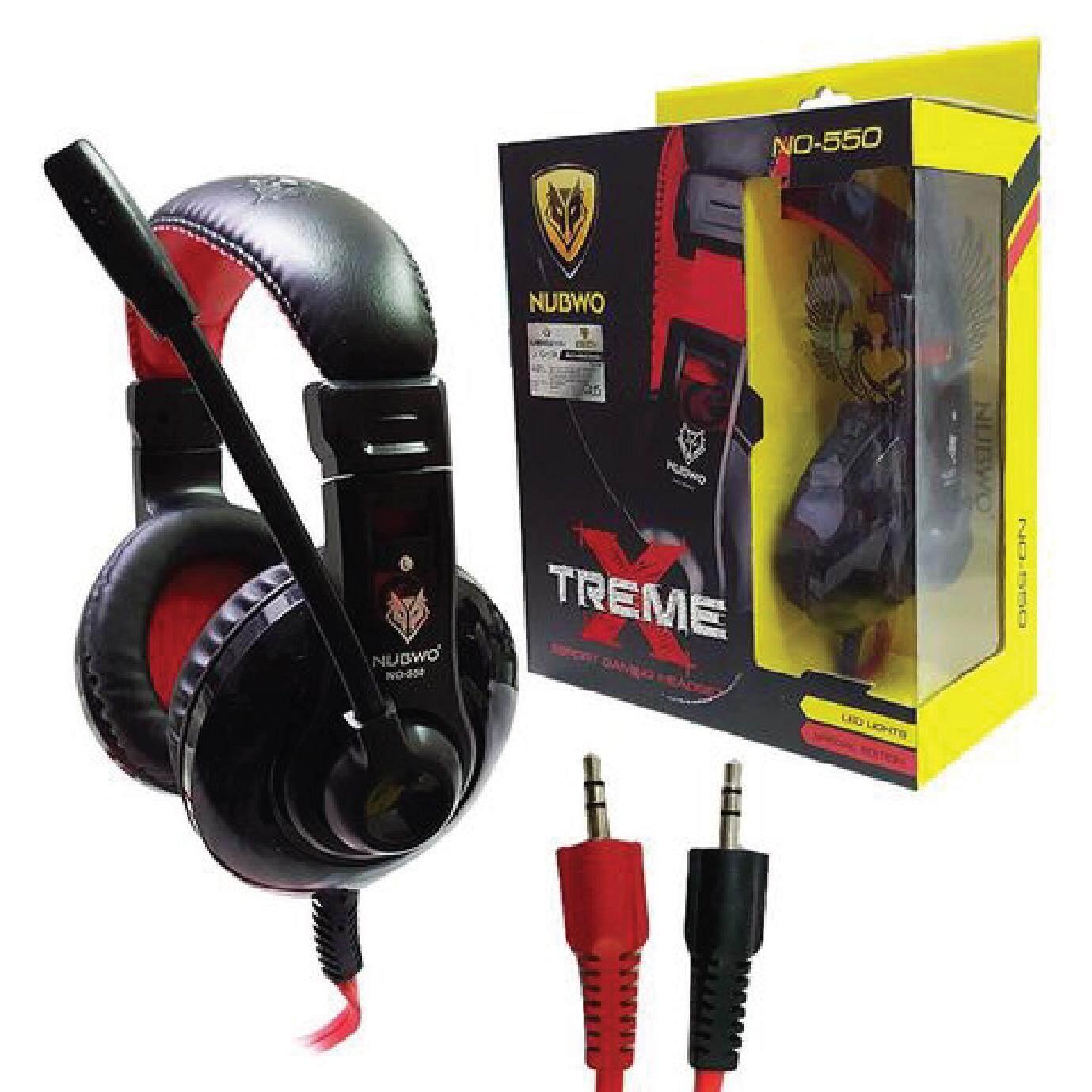 Nubwo Headshet Stereo No040 No 550 Led