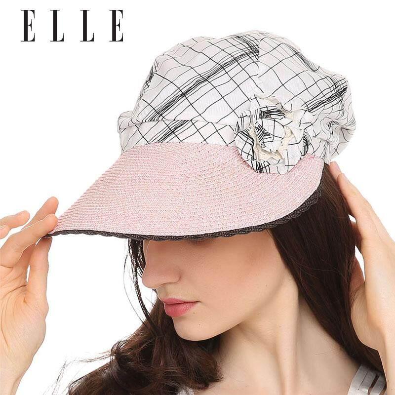 ELLE 16sep-11-711 Musim Semi atau Musim Panas Bernapas Matahari Topi Wanita Topi