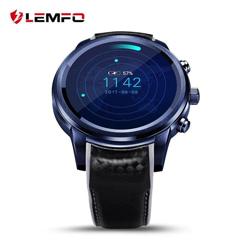 Lemfo LEM5 PRO Dukungan Kartu SIM GPS WIFI Jam Pintar untuk Android