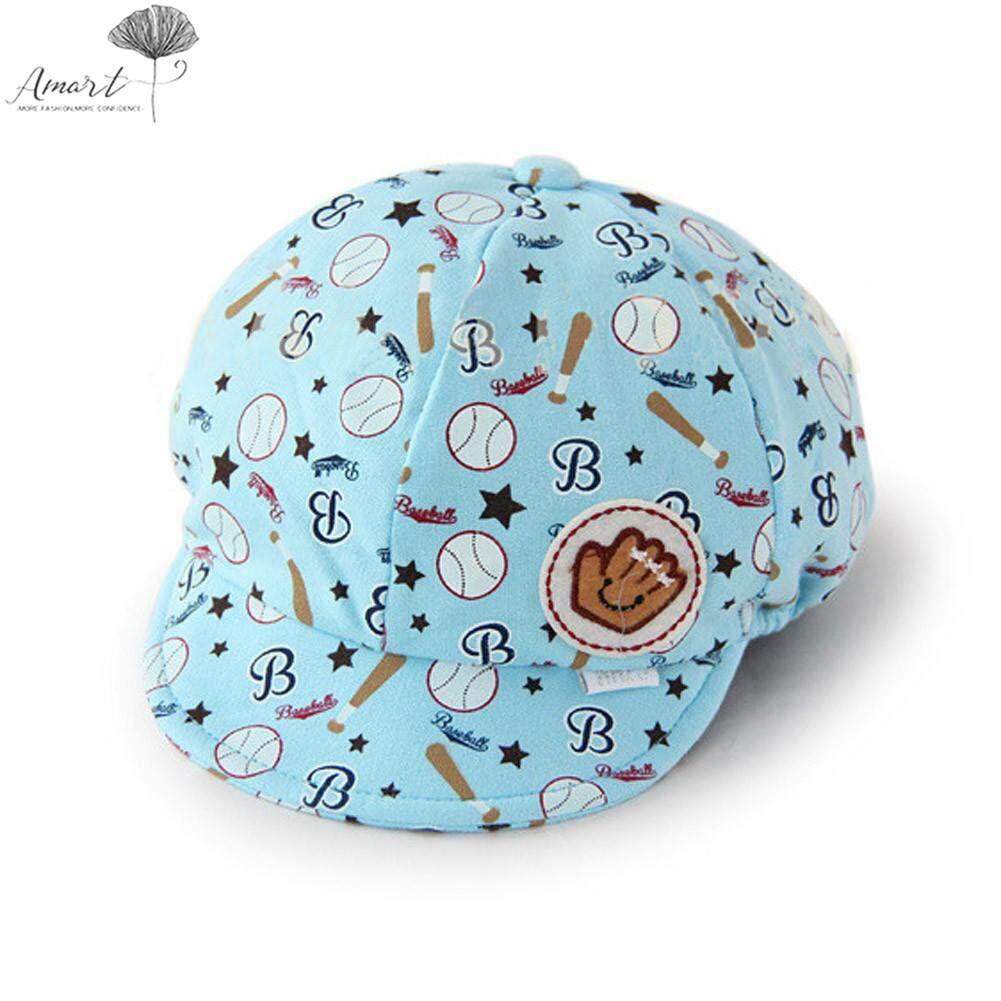 Amart เด็กหมวกเบสบอลเด็ก Peaked หมวก - Intl.