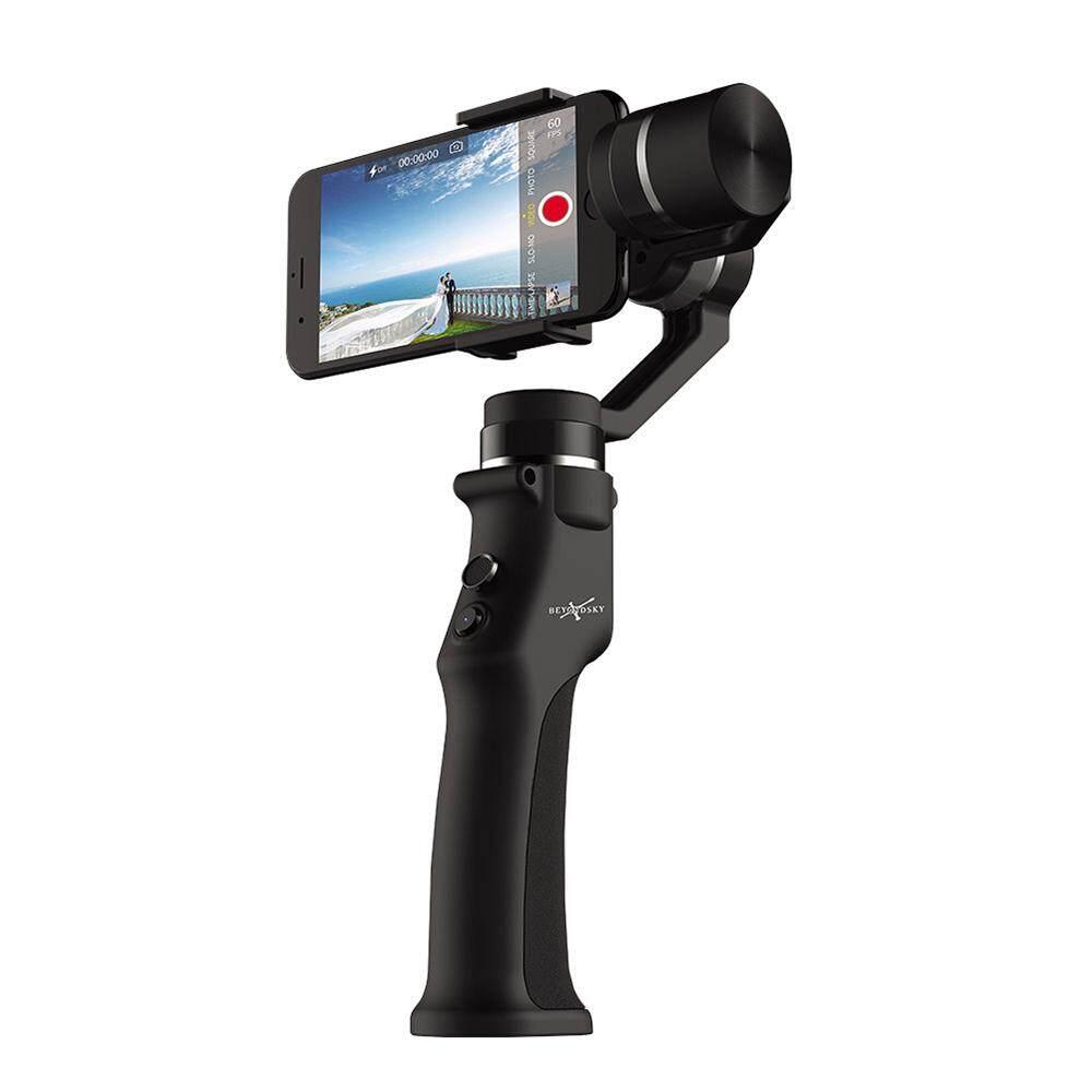 Beyondsky Eyemind Smartphone Gimbal Genggam 3-Axis Stabilizer untuk iPhone 8 X Samsung Kamera Aksi Vs Zhiyun Halus Q