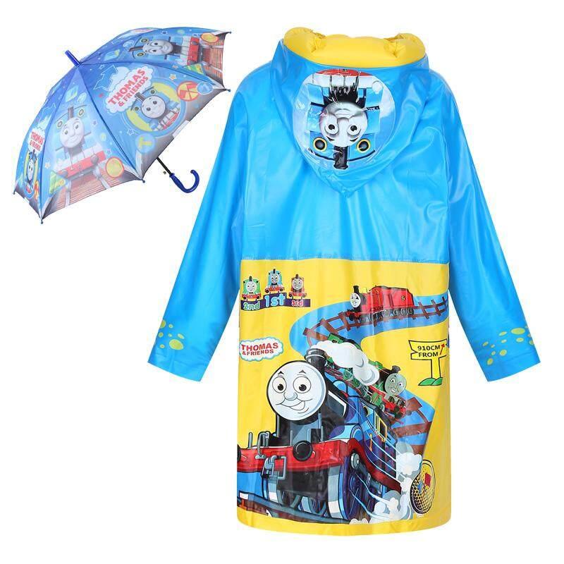 LTMS mantel hujan anak laki-laki sepatu boots hujan Set anak-anak peralatan hujan anak laki-laki Payung sepatu boots hujan sepatu bot hujan Set anak laki-laki kecil Jas hujan