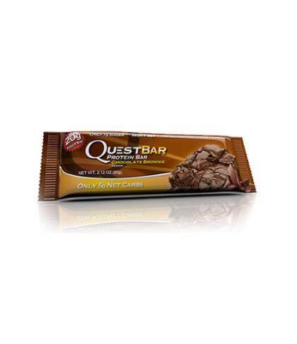 Quest /// Chocolate Brownie (1 Bar - 20g) จำนวน 6 Bar .