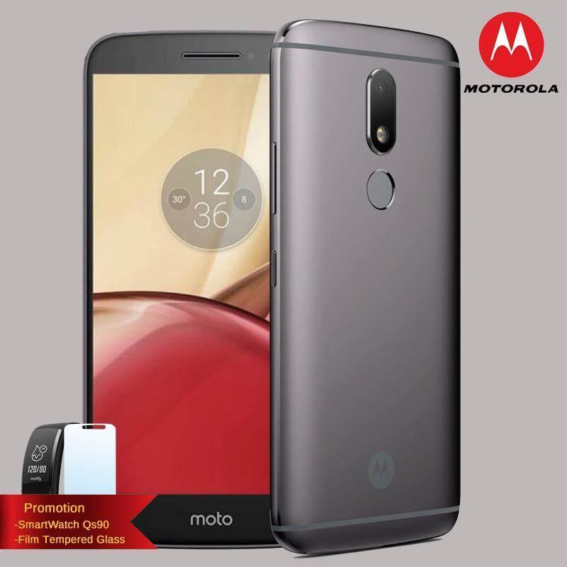 ขาย ซื้อ Motorola Moto M ฟรี Smartwatch Qs90 ฟิล์ม Full Netcom 4G Lte Dual Sim ประกันศูนย์ไทย 1ปี ใน กรุงเทพมหานคร