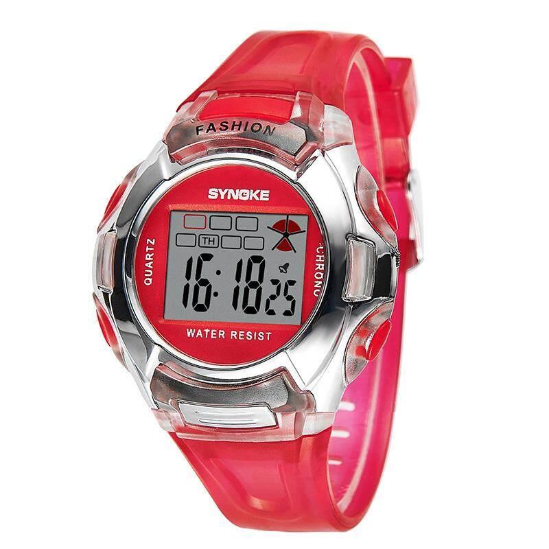 SYNOKE Brand Watch waterproof outside sport cartoon watches Children Digital Watches Jelly LED Watch 99329 Malaysia