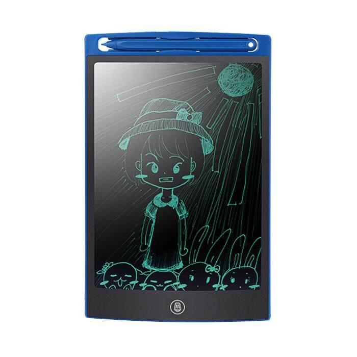 แผ่นวาดรูป แผ่นเขียนลายนิ้วมือ กระดาน Led Tablet ขนาด 8.5 นิ้ว.