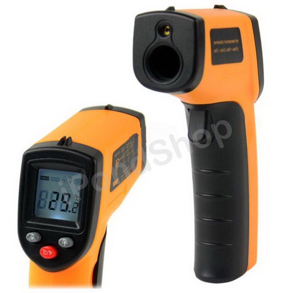 Product details of Infrared Thermometer เครื่องวัดอุณหภูมิอินฟราเรด (พร้อมถ่าน)